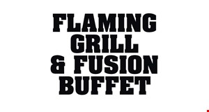 Flaming Grill & Fusion Buffet logo