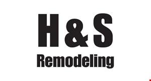 H & S Remodeling logo