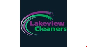 Lakeview Cleaners logo