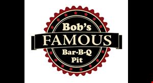 Bob's Famous Bar-B-Q Pit logo