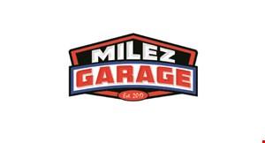 Milez Garage logo