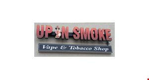 Up  in Smoke Vapor & Tobacco Shop logo