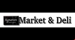 Signature Market & Deli logo
