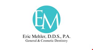 Eric Mehler, D.D.S., P.A. General & Cosmetic Dentistry logo