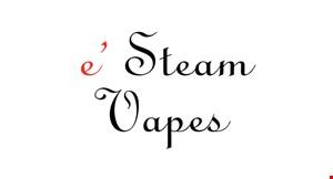 E-Steam Vapes logo