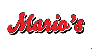 Mario's Restaurant and Pizza logo
