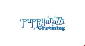 Puppyarazzi Grooming logo