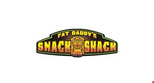 Fat Daddy's Snack Shack logo