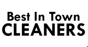 Best of Town Cleaners logo