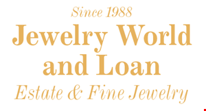 Jewelry World & Loan logo