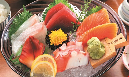 Product image for Tokyo Sushi & Steakhouse 50% off hibachi dinner buy 1 hibachi dinner and 2 beverages, receive 2nd hibachi dinner of equal or lesser value 50% off dinner only - dine in only