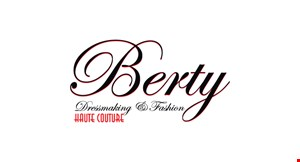 Berty Dressmaking and Fashion logo