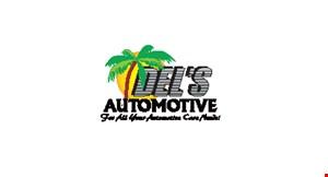 Del's Automotive logo