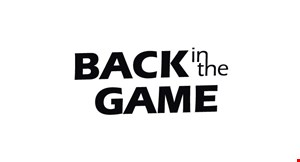 Back in The Game logo