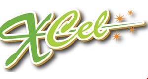 X-Cel Gymnastics logo