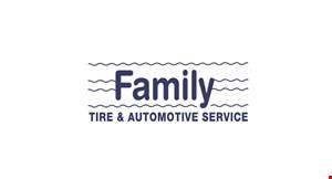 Family Tire & Automotive logo