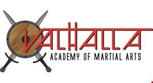 Valhalla Academy of Martial Arts logo