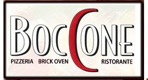 Boccone Pizzeria Ristorante logo