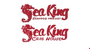 Sea King Seafood Market + Crab House logo