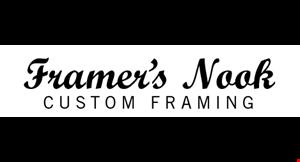 Farmer's Nook Custom Framing logo