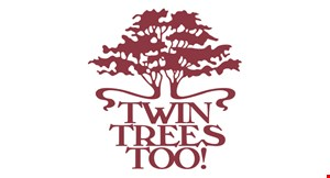 Twin Trees Too! logo