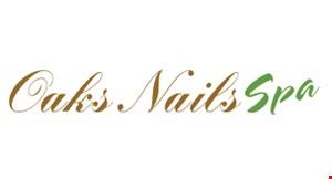 Oaks Nail and Spa logo