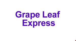 Grape Leaf Express logo