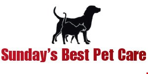 Sunday's Best Pet Care logo