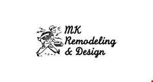 MK Remodeling & Design logo