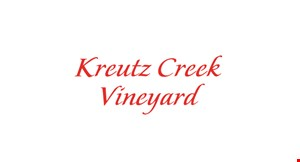 Kreutz Creek Vineyard logo
