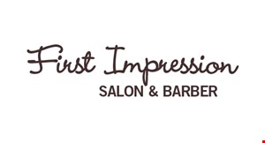 First Impressions Salon and Barber logo