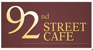 92Nd Street Cafe logo