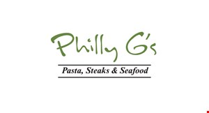 Philly G's Pasta, Steaks & Seafood logo