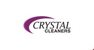 Crystal Cleaners logo