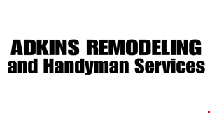 Adkins Remodeling and Handyman Services logo