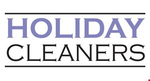 Holiday Cleaners logo