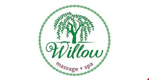 Product image for Willow Massage FREE Bikini Wax (normally $26.00) Upgrade to full or Brazilian Wax for additional amount.