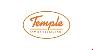 TEMPLE  FAMILY RESTAURANT logo