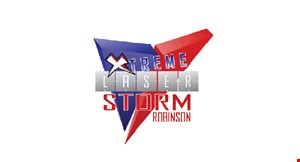 Xtreme Laser Storm Robinson logo