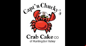 Capt'n Chucky's Crab Cake Co. logo