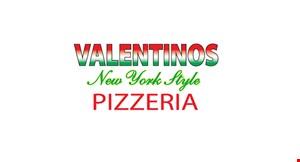 Valentinos NY Style Pizzeria logo