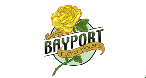 Product image for Bayport Flower Houses $10 Off any purchase of $50 or more