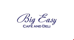 Big  Easy Cafe and Deli logo