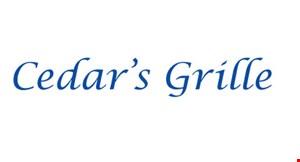 The Cedars Grille logo