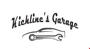 Kichline's Garage logo