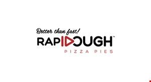 Rapidough Pizza Pies logo