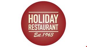 Holiday  Restaurant logo
