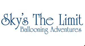 Sky's The Limit Ballooning Adventure logo