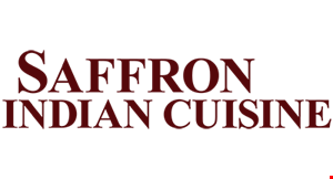 Product image for Saffron Indian Cuisine $2 off lunch buffet per person - mon-thurs