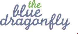 The Blue Dragonfly logo